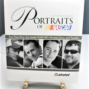 """""""Portraits Of Nascar"""" Coffee Table Book"""